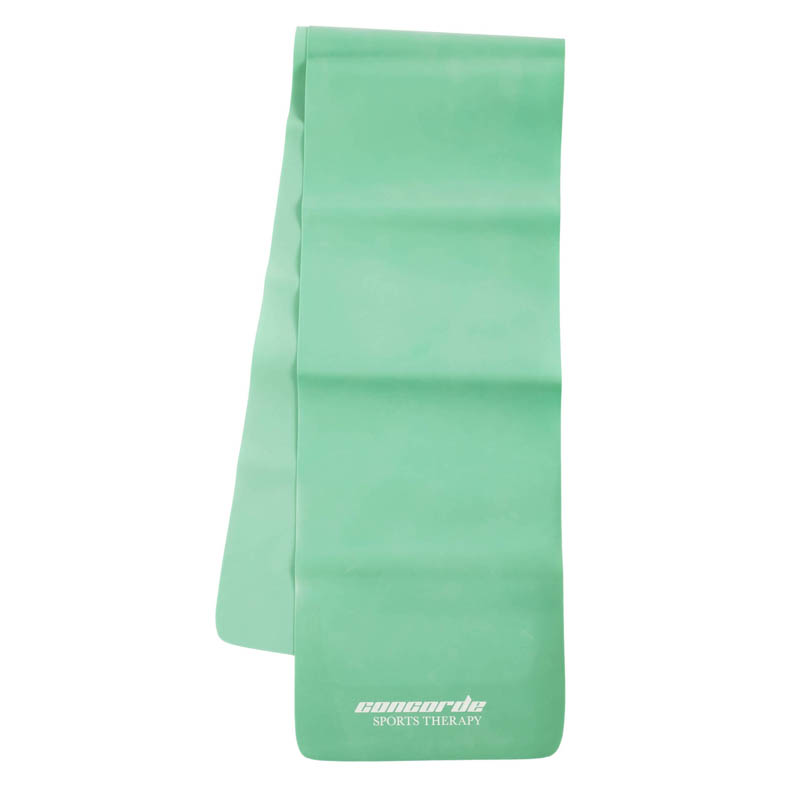 (3 Ea) Pilates Flat Band .65mmgreen 48l X 5w