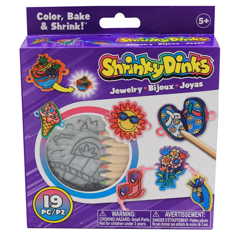Shrinky Dinks Good Time Jewelry