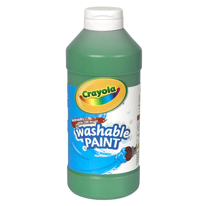 Crayola Washable Paint 16 Oz Green