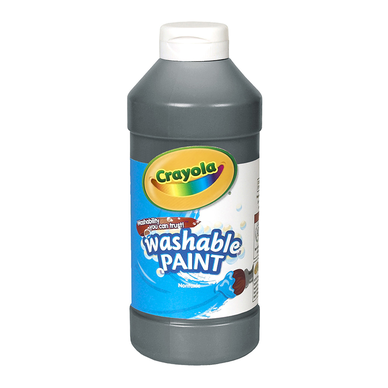 Crayola Washable Paint 16 Oz Black
