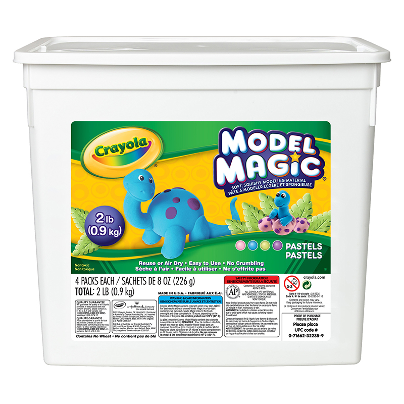 2 Lb Bucket Model Magic Pastelcolors