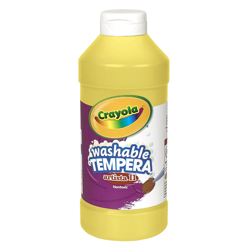Artista Ii Tempera 16 Oz Yellowwashable Paint