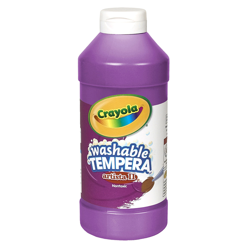 Artista Ii Tempera 16 Oz Violetwashable Paint