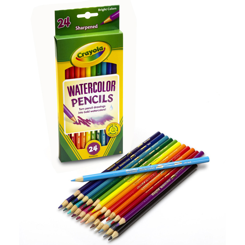 Crayola Watercolor Pencils 24 Color