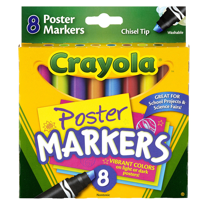 Crayola 8ct Poster Markers