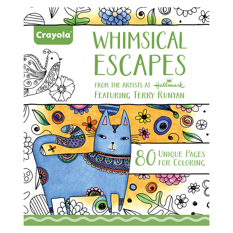 Coloring Book Whimsical Escapes