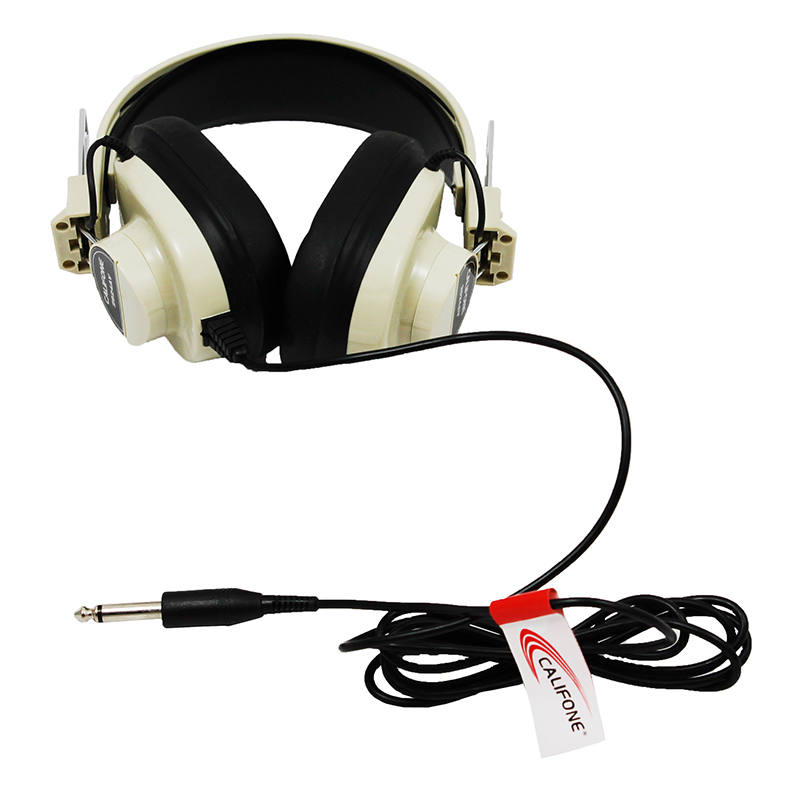 Monaural Headphone 5 Straight Cord50-12000 Hz