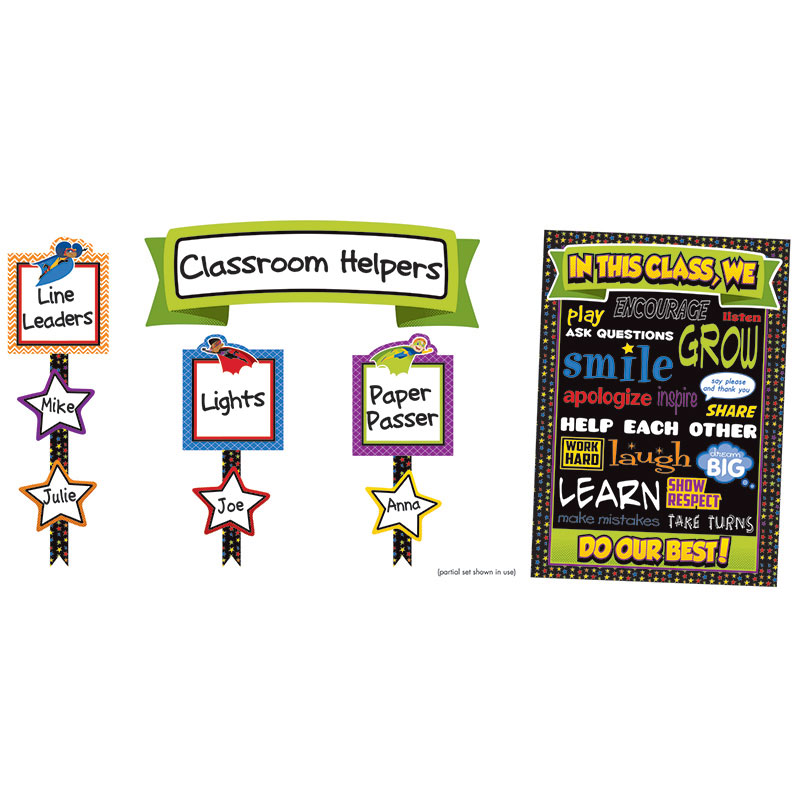 Super Power Classroom Managementbb Set