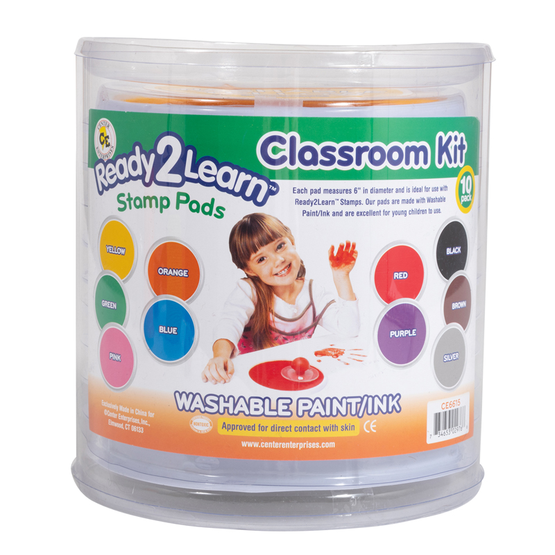 Jumbo Circular Washable Padsclassroom Kit