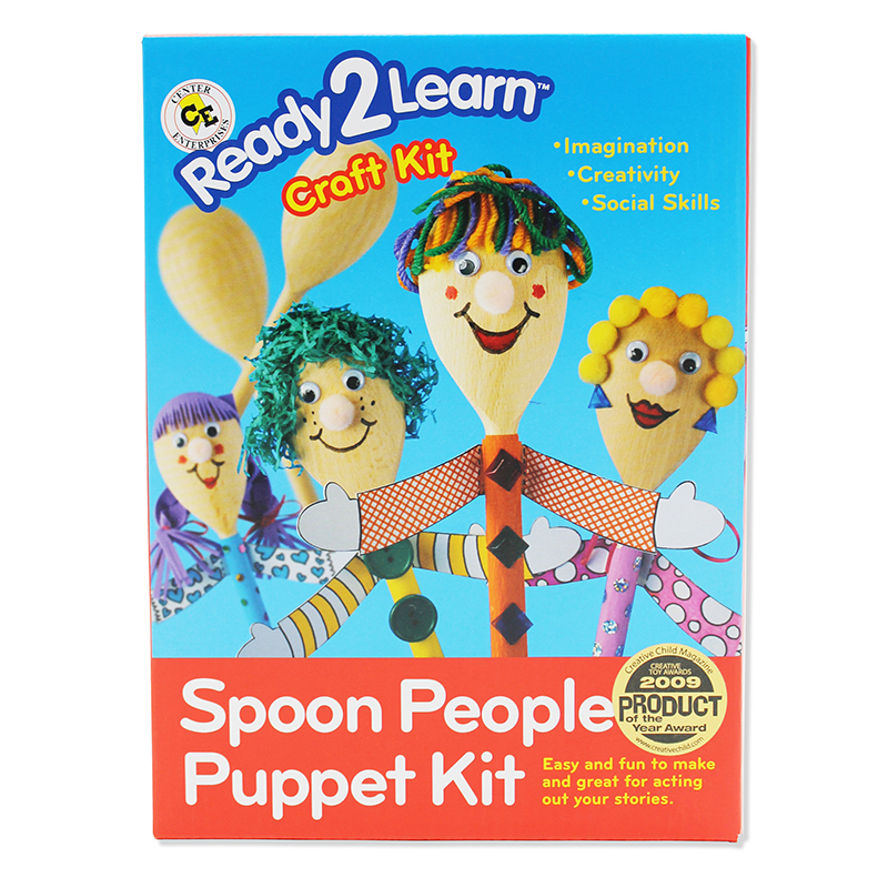 Ready2learn Craft Kit Spoon People