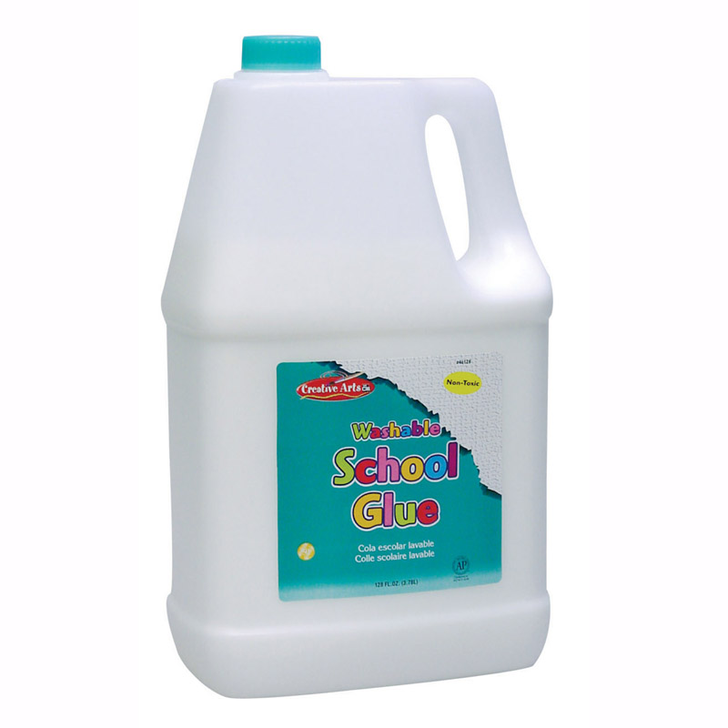 Economy Washable School Glue Gallon