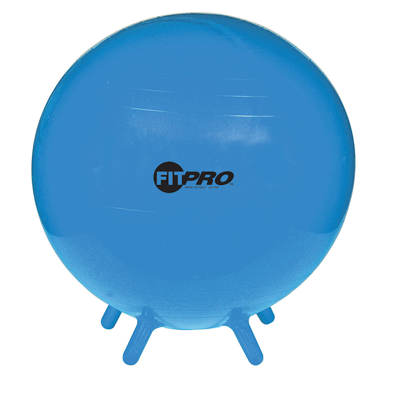 Fitpro Ball Stability Legs Blu 55cmgr 3 And Up