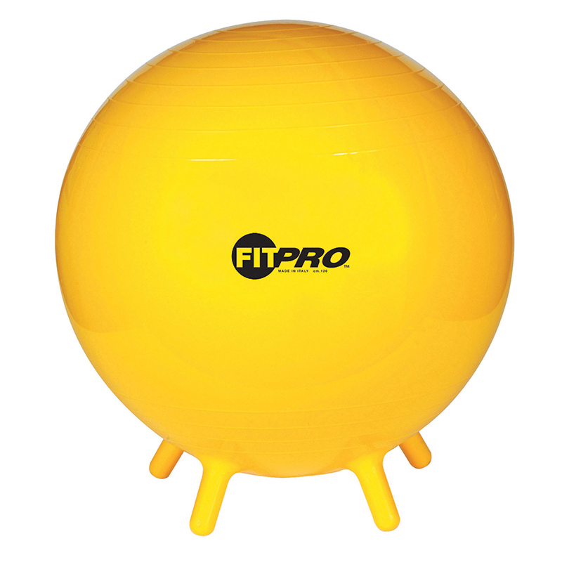 Fitpro Ball Stability Legs Yel 65cmgr 5 And Up