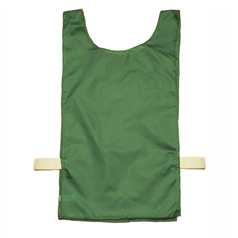 12pk Green Heavyweight Sport Pinnie