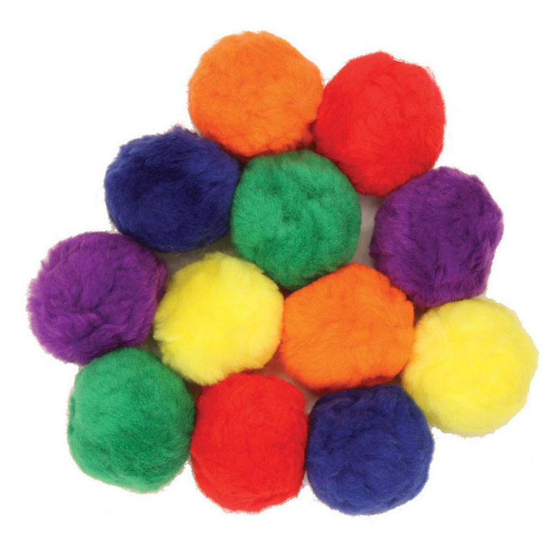 (12 Pk) Colossal Fluff Balls 70 Mmmulti Color