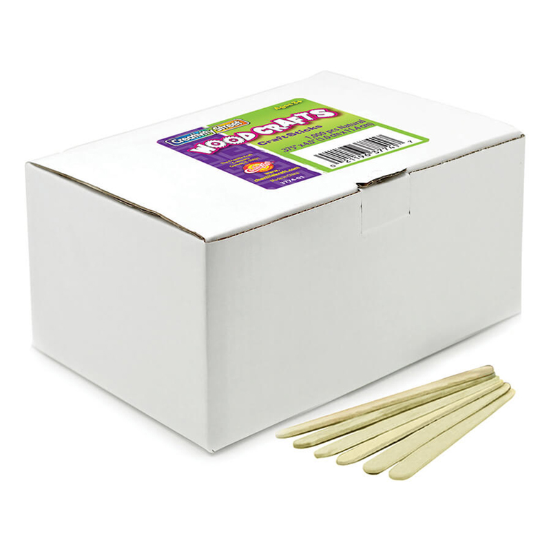 Craft Sticks 1000 Pcs Naturaleconomy Gr