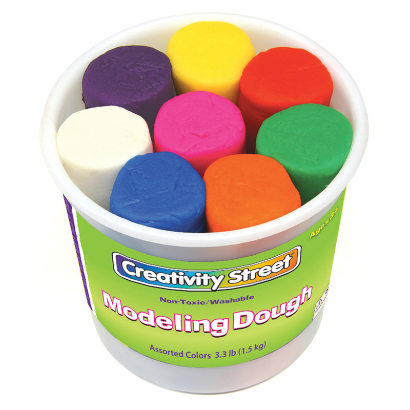 (2 Ea) Modeling Dough 8 Colors