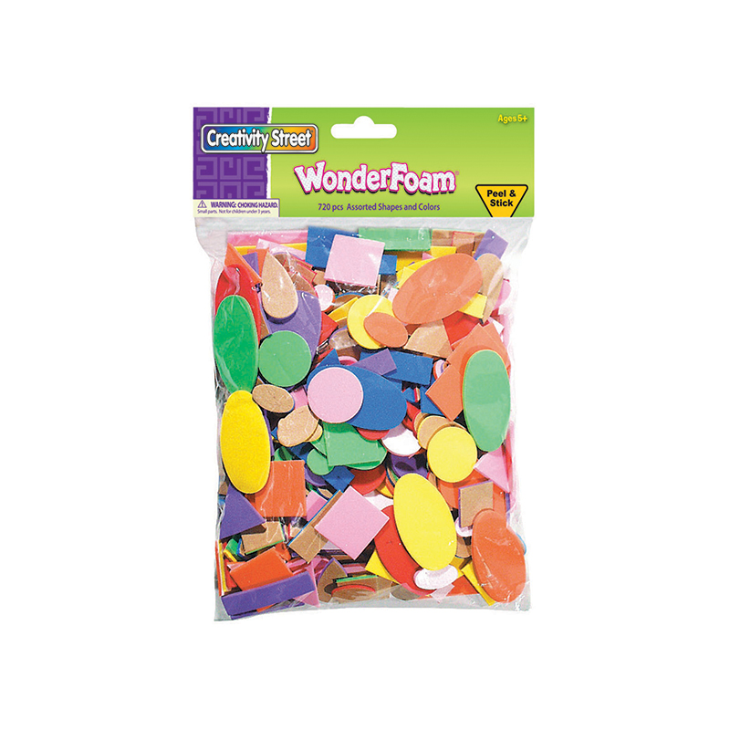 (6 Pk) Peel & Stick Wonderfoam 720per Bag