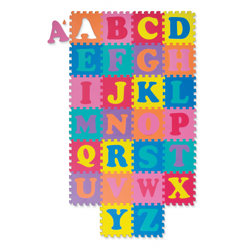 Wonderfoam Alphabet Puzzle 52 Pcsmat 10 X 10