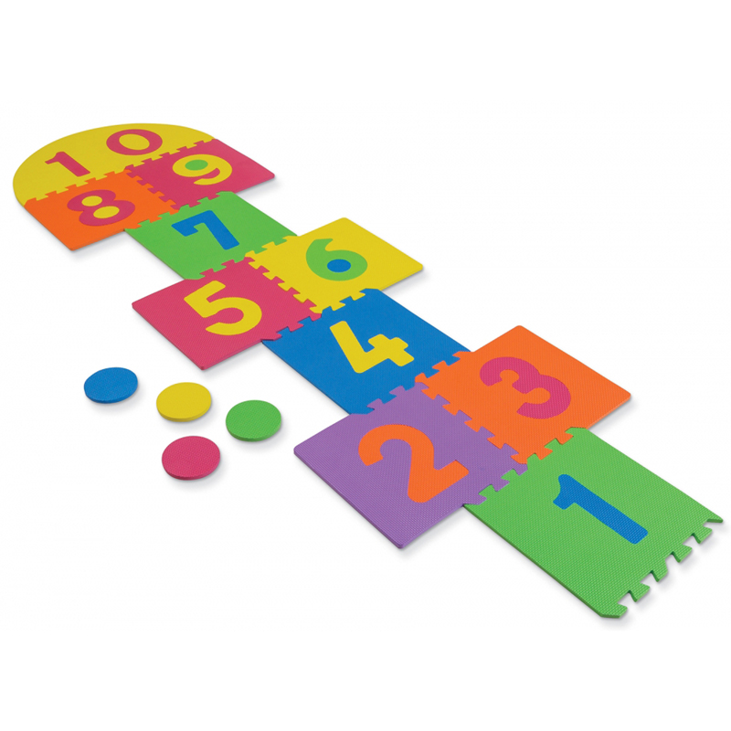Wonderfoam Hop Scotch Mat 25 Pcs12-1/2 X 12-1/2