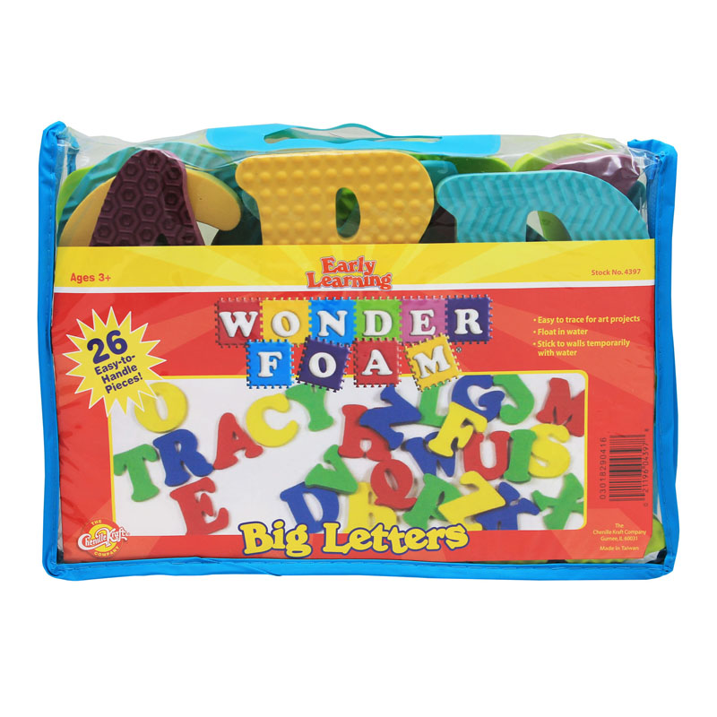 (2 Ea) Wonderfoam Big Letters