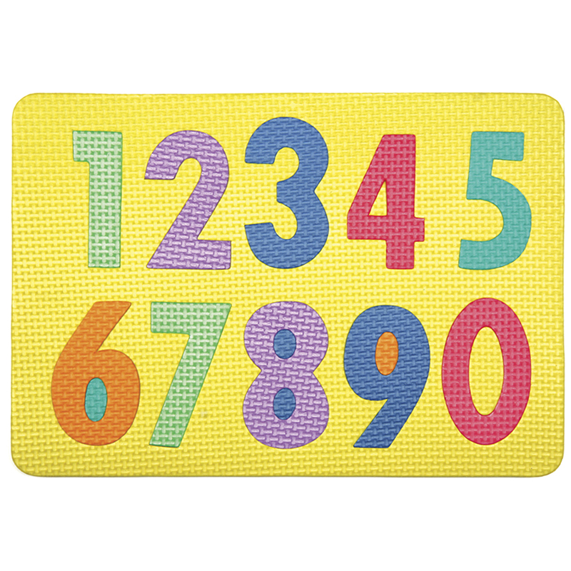 Wonderfoam Magnetic Numerals Puzzle