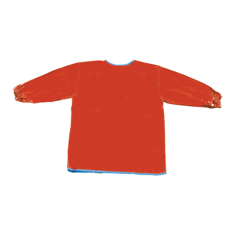 (6 Ea) Long Sleeve Artist Smock Red