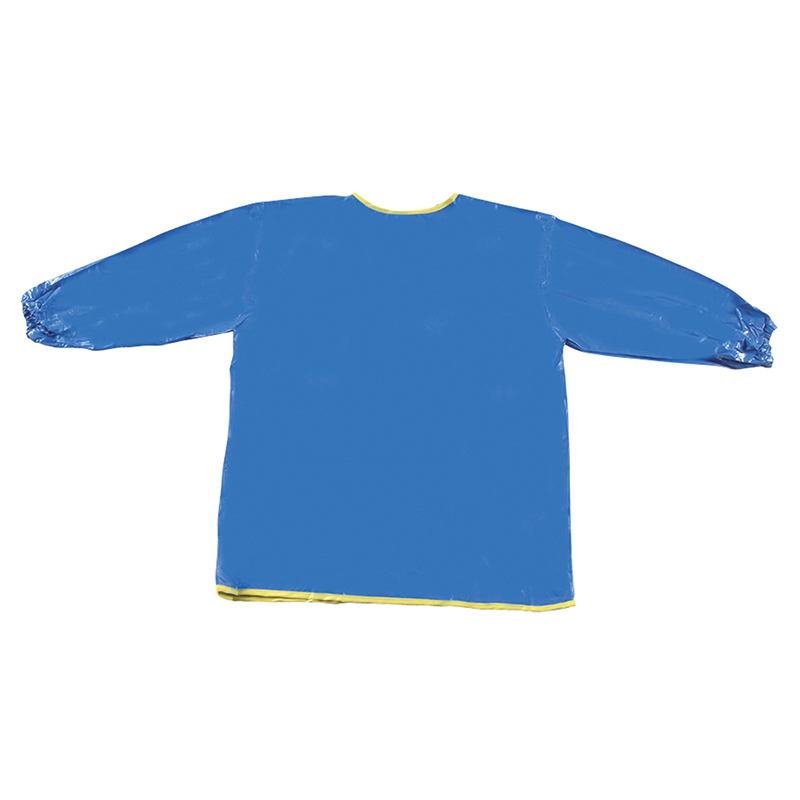 (6 Ea) Long Sleeve Art Smock Blue