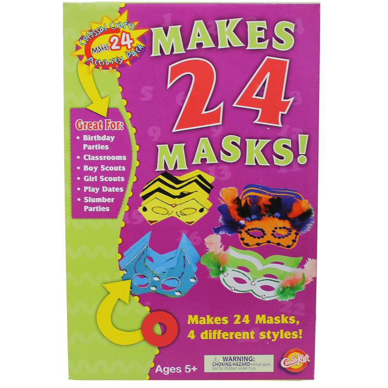 Colossal Craft Packs Masks