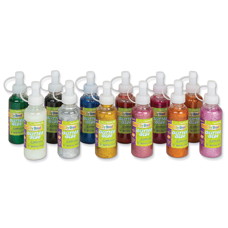 Glitter Glue 12pk Assortment