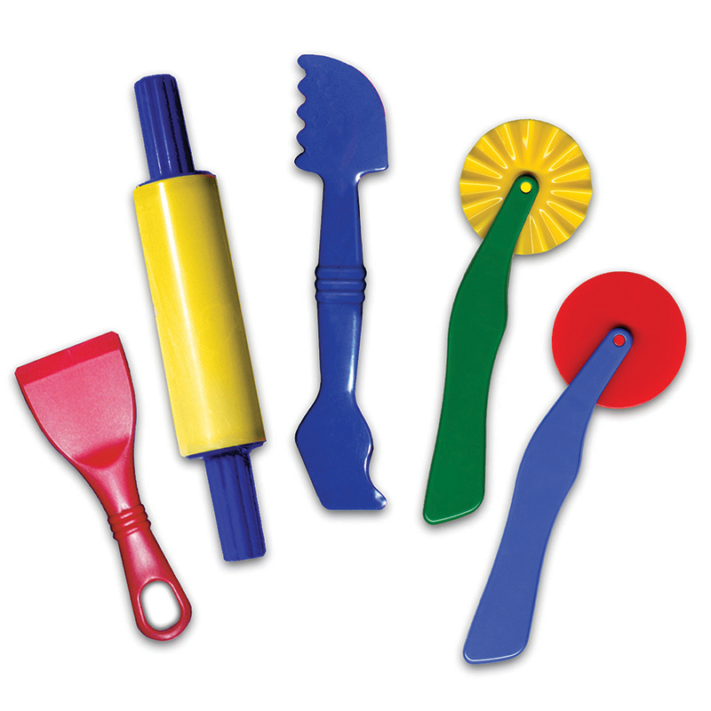 (6 St) Dough Tools 5 Per Set