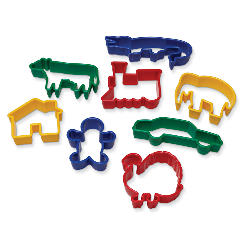 Dough Cutters - 8 Animals