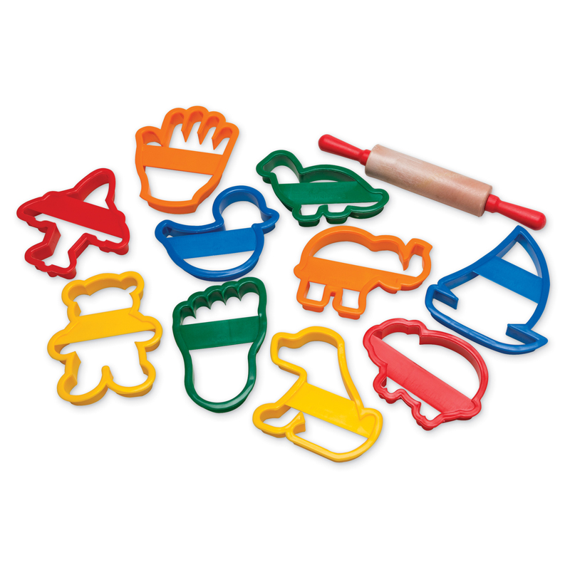 (3 St) Jumbo Clay Cutter Set