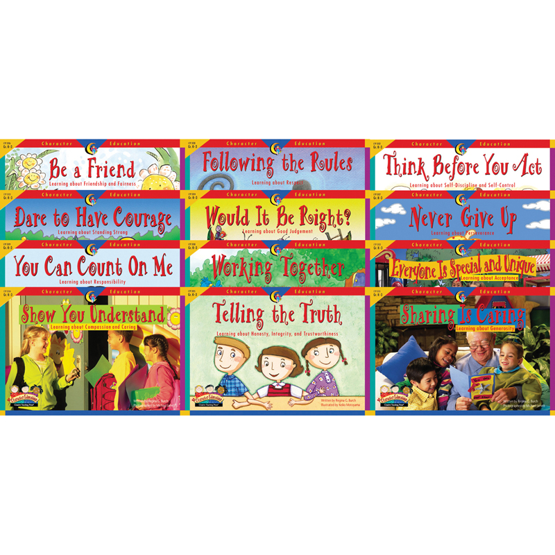 Character Education 12 Booksvariety Pk 1 Each 3123-3134