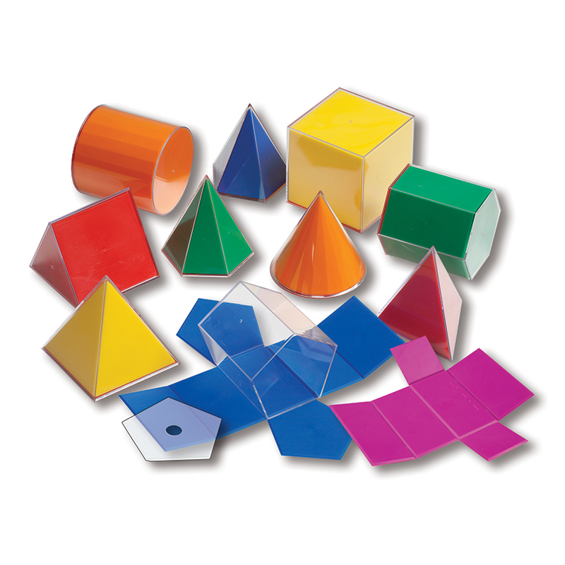 Folding 3-d Geofigures 10cm