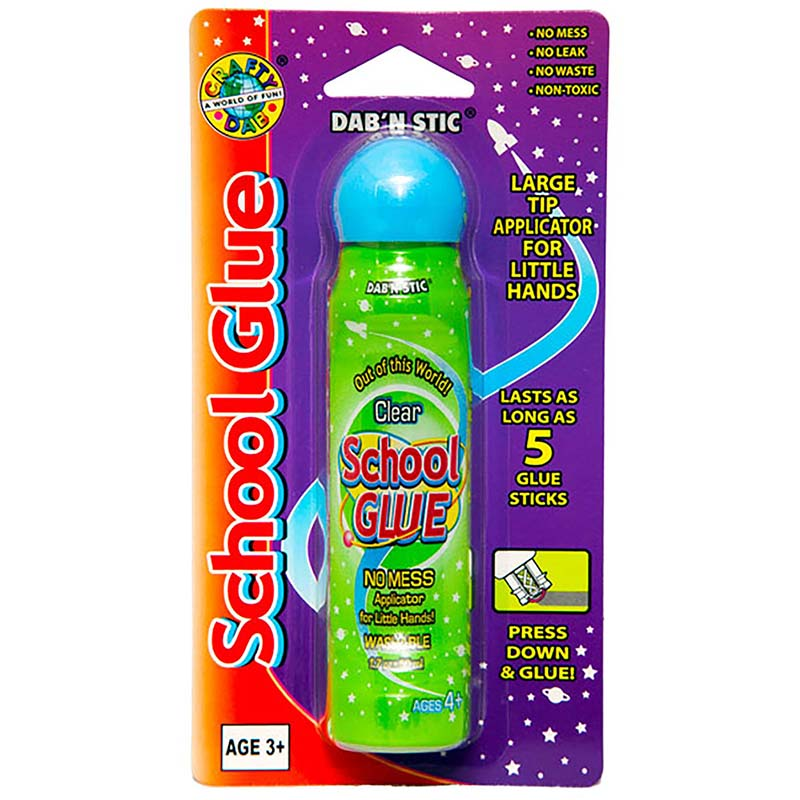 Crafty Dab Glues Dab N Stic Schoolglue