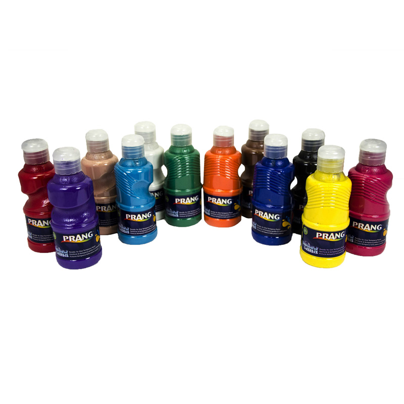 Prang Washable Paint 12 Color Set