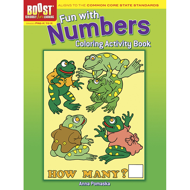 Boost Fun With Numbers Coloringactivity Book Gr Pk-k