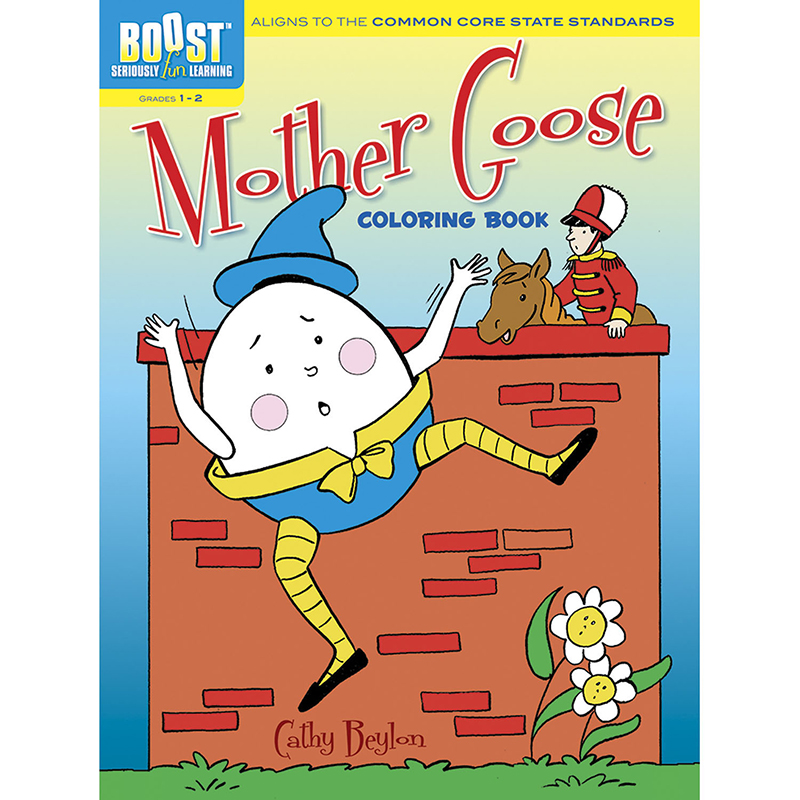 Boost Mother Goose Coloring Bookgr 1-2