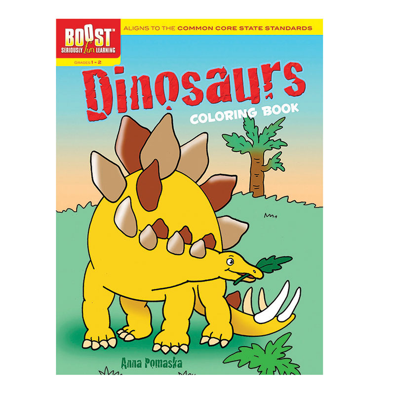 Boost Dinosaurs Coloring Bookgr 1-2