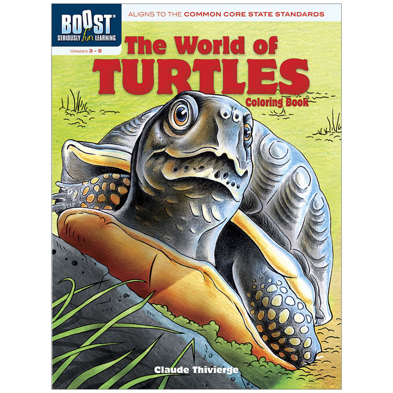 Boost The World Of Turtles Coloringbook