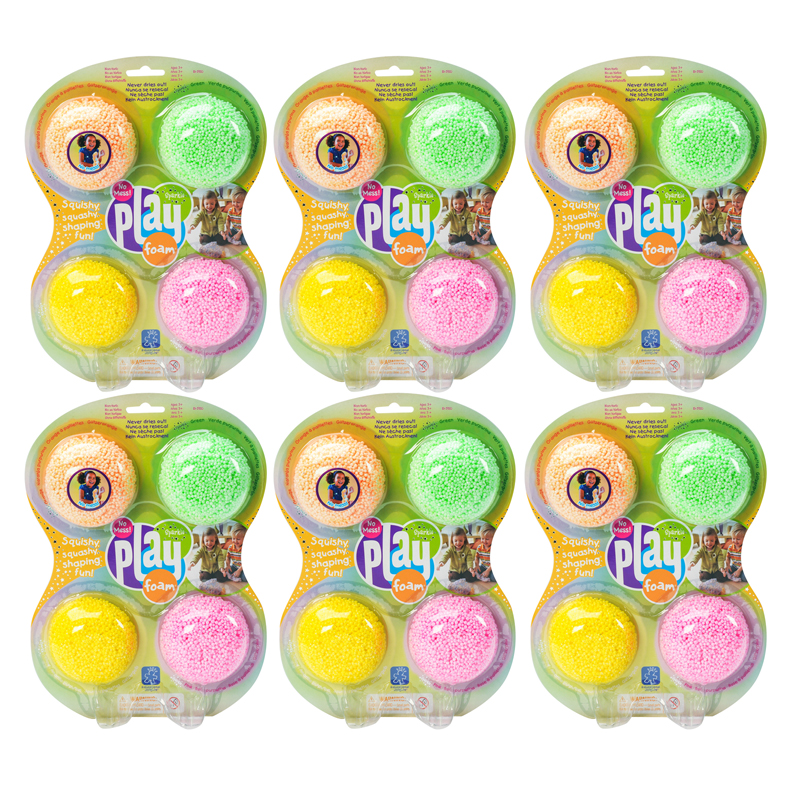 (6 Pk) Playfoam Sparkle 4 Per Pk