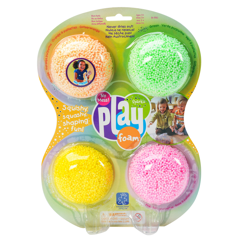 Playfoam Sparkle 4 Pack