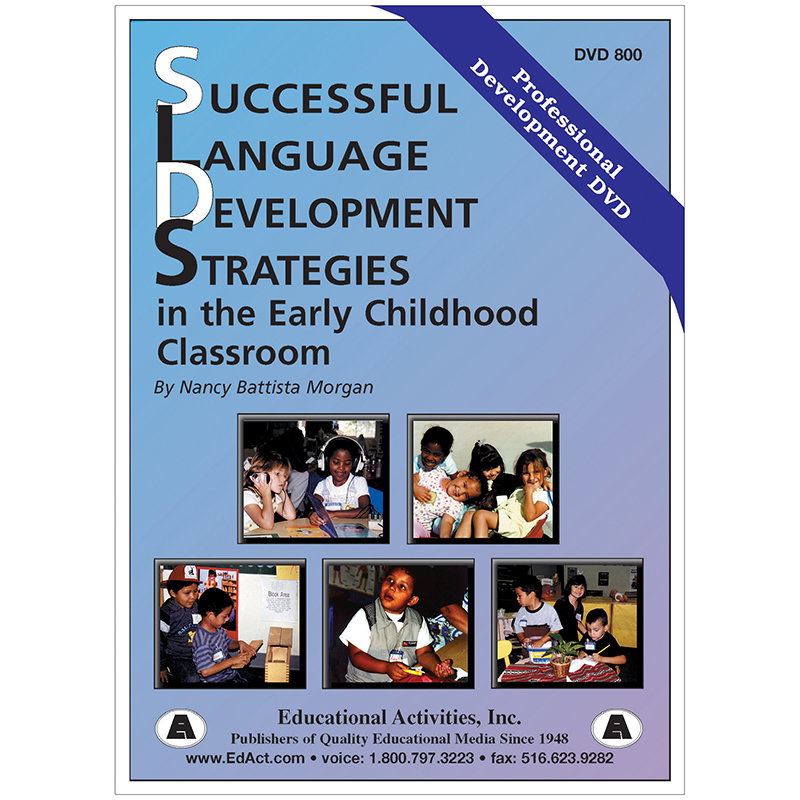 Language Development Strategiesin The Early Childhood Classroom
