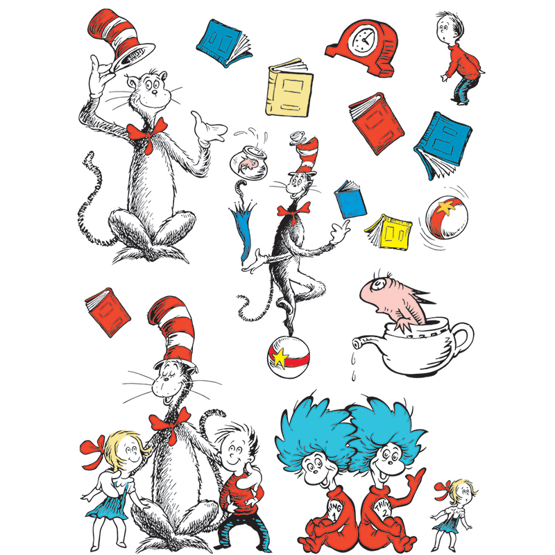 Bb Set Cat In The Hat Largecharacters