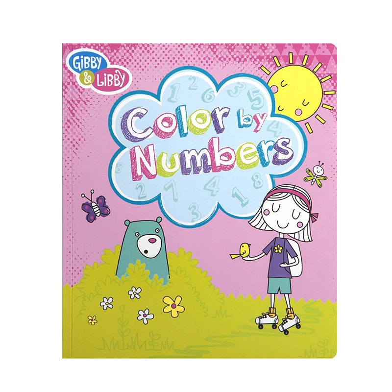 Girl 3 Color By Numbers Book
