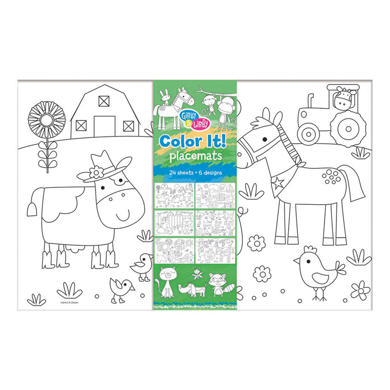 Faithful Friends Color Placemats
