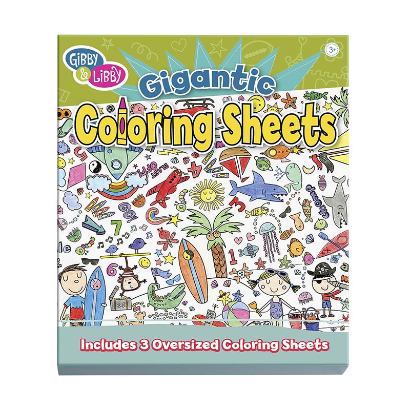Coloring Begin Giant Coloring Sheet
