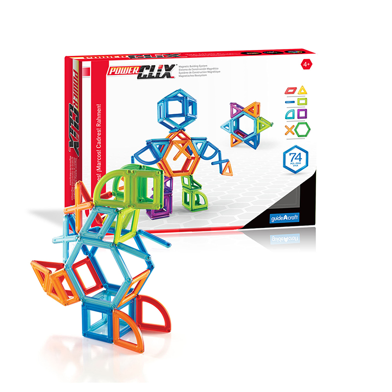 Powerclix Frame 74 Pcs Educationalset