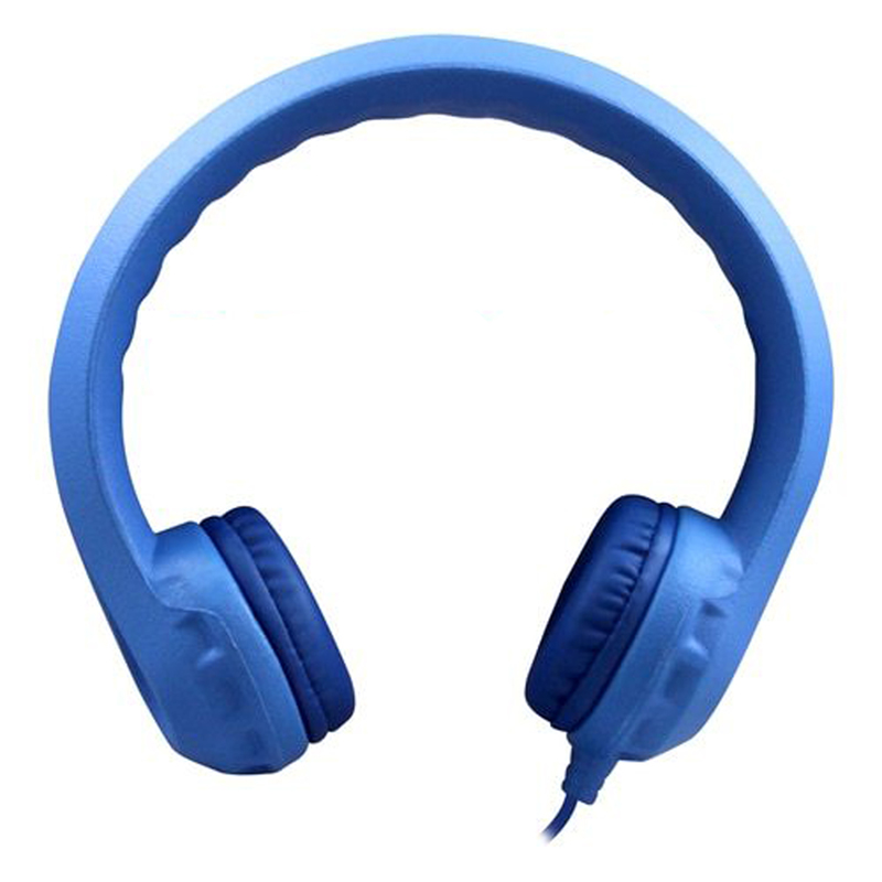 Flex-phones Indestructible Blu Foamheadphones
